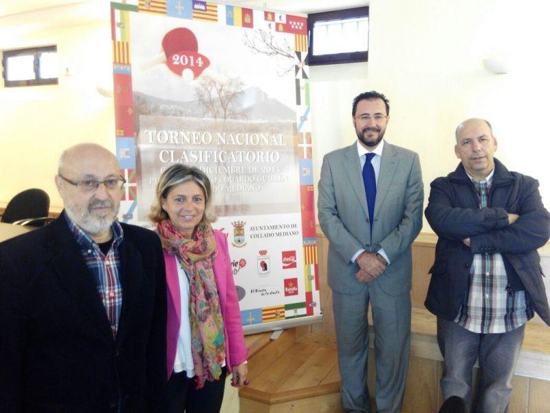 Acto de presentación ayer en Collado Mediano.