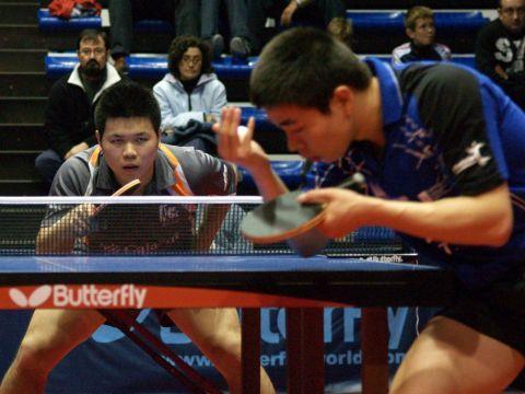 Shuai Lin ante Wu Chih-Chi Fotografía: Dele