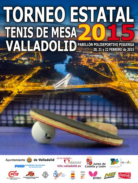 Cartel anunciador del Torneo Estatal 2015