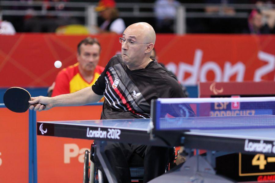 Miguel Rodríguez durante su participación en los últimos JJOO de Londres 2012. (Foto: CPE)