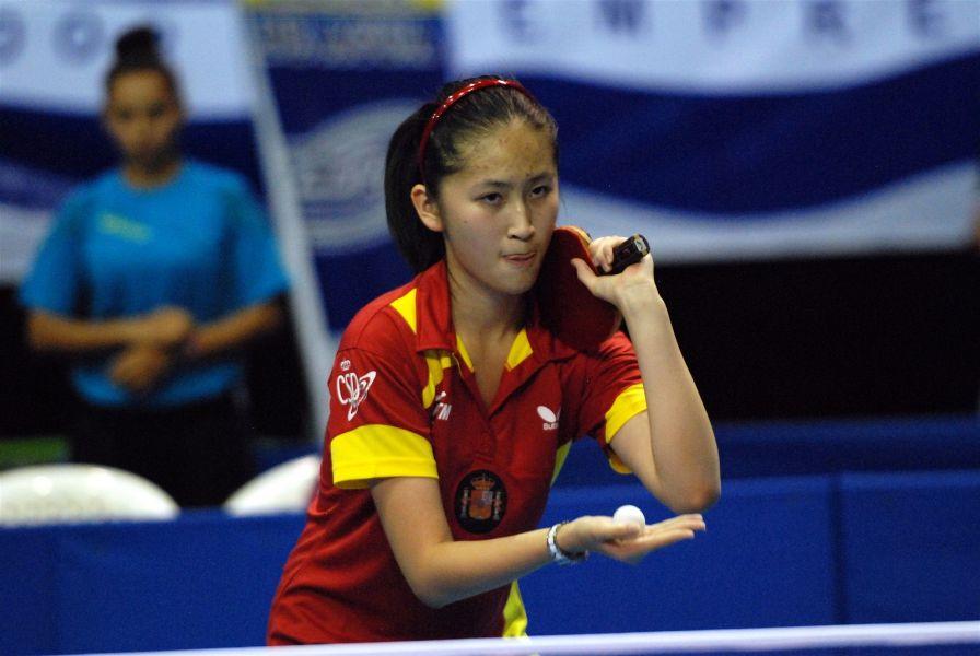 Sofía-Xuan Zhang. (Foto: ittfworld)