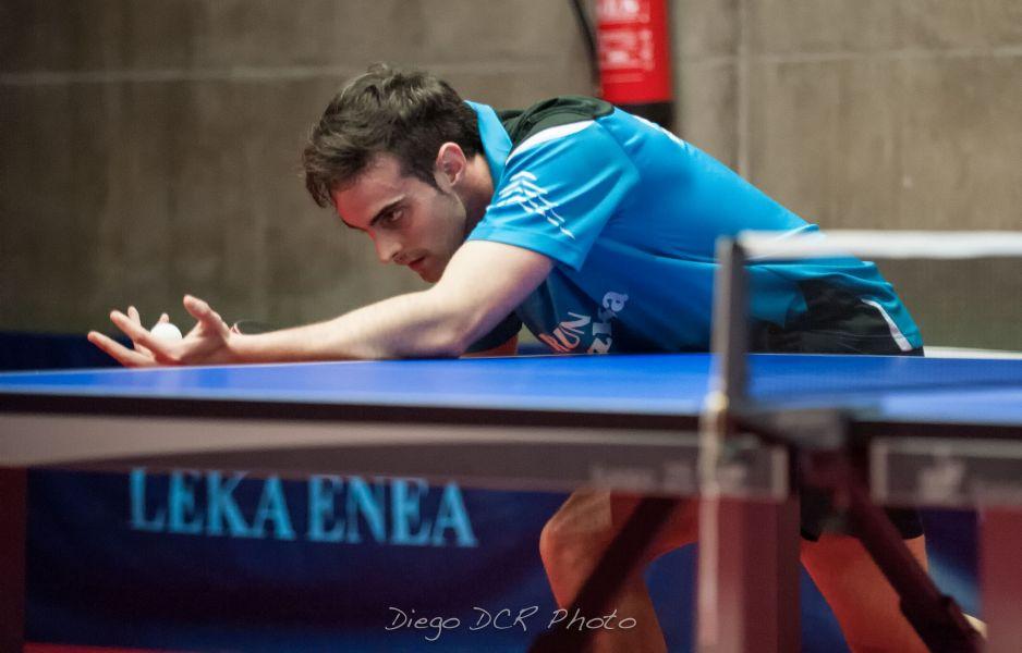 Jaime Vidal, jugador del Irún Leka Enea. (Foto: Diego DCR Photo)