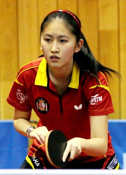 Sofía-Xuan Zhang en Chequia. (Foto: ittfworld)