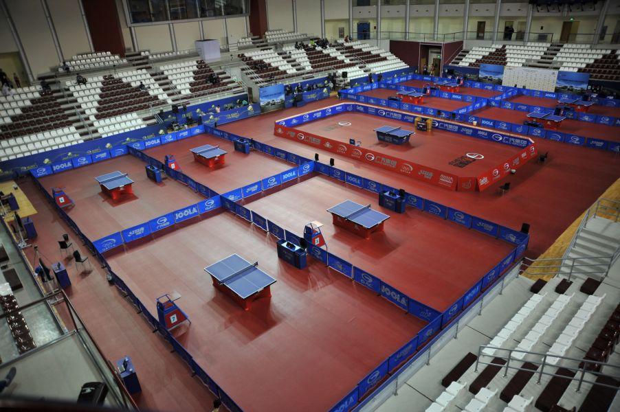 Areas de juego del Open de Qatar.