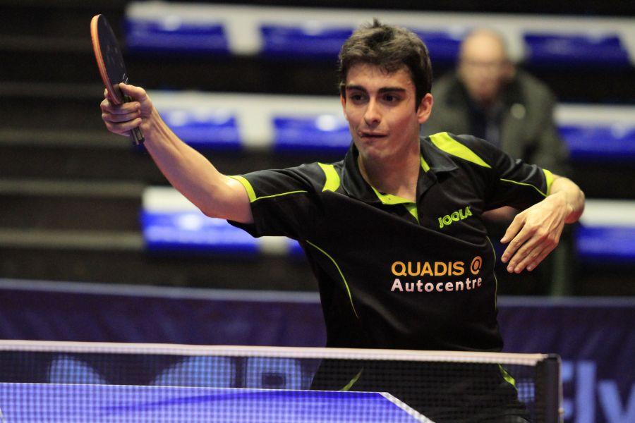 Xavier Peral, jugador del CN Mataró Quadis. (Foto: Antonio García)