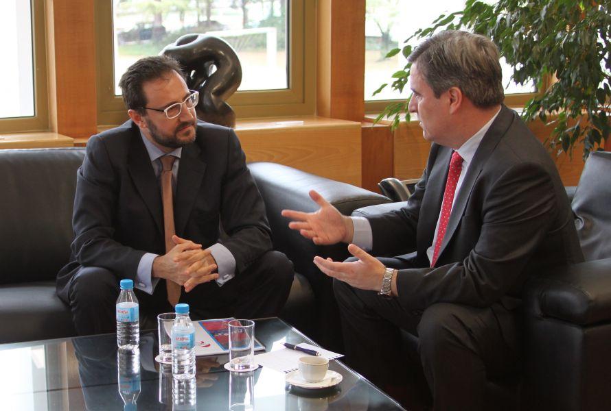 Miguel Ángel Machado y Miguel Cardenal. (Foto: CSD Oficina de Prensa)
