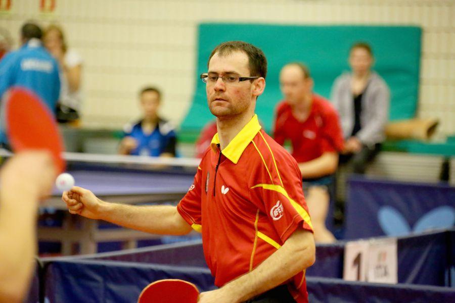 Eduardo Cuesta participando en el PTT Open de Italia. (Foto: ittfworld)