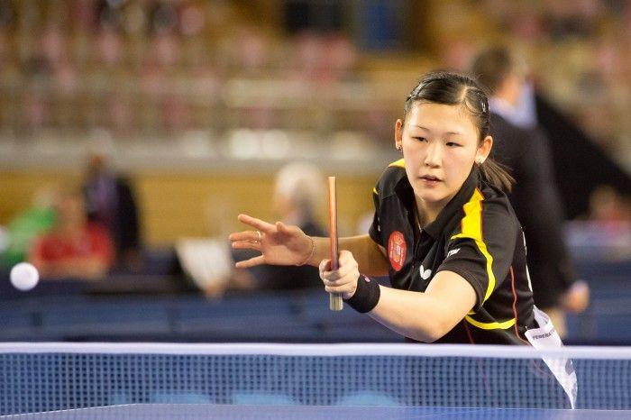 María Xiao en el Open de Luxemburgo.