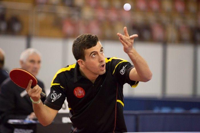 Miguel Ángel Vílchez en el Open de Luxemburgo.