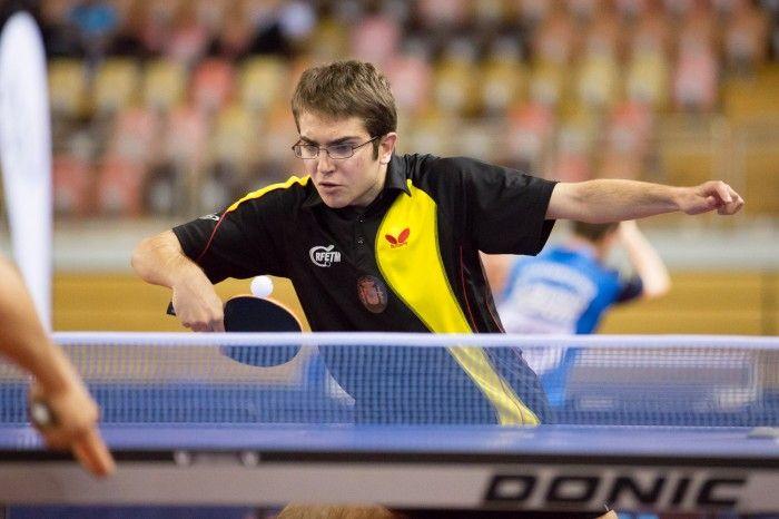 Birja Sánchez en el Open de Luxemburgo.
