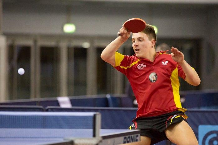 Daniel Palacios en el Open de Luxemburgo.