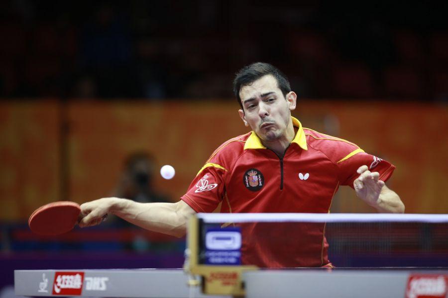Marc Durán en China. (Foto ITTF)