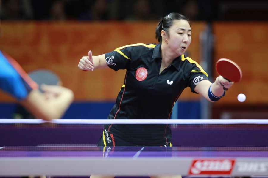 Yanfei Shen en Suzhou. (Foto: ITTF)