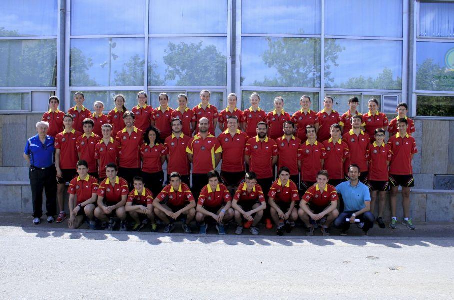 Equipo español en el SYOC.
