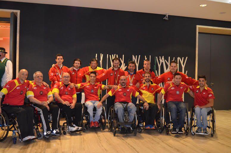 Equipo español en Eslovenia