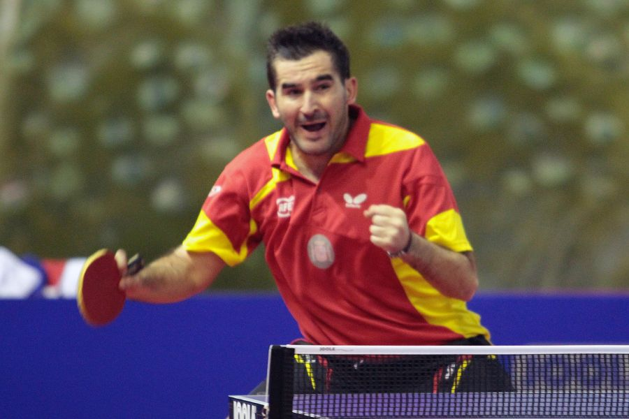 Jesús Cantero logró hoy la clasificación para el cuadro final.