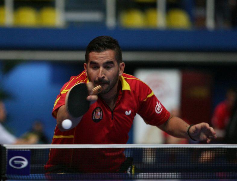 Jesús Cantero en Croacia. (Foto: ITTF)