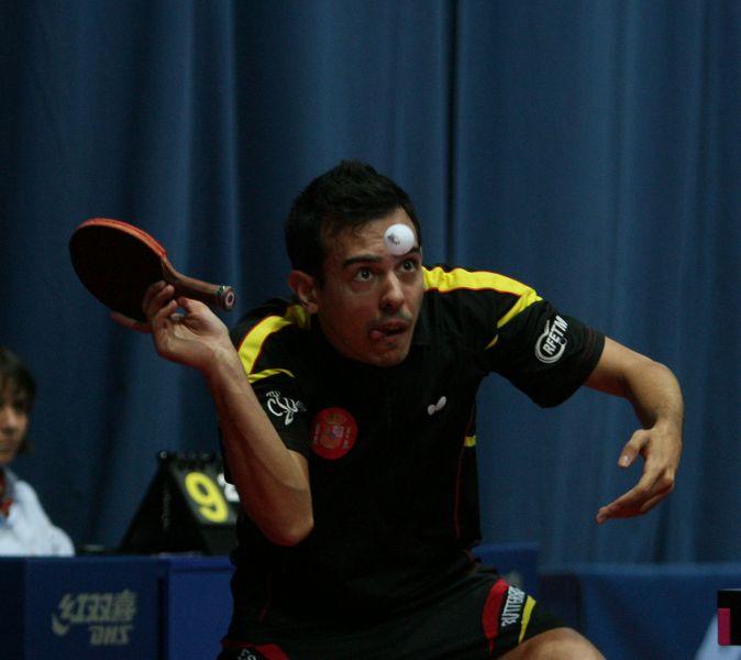 Marc Durán en Croacia. (Foto: ITTF)