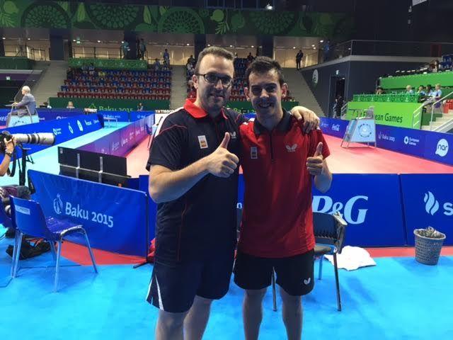 Marc Durán y Víctor Sánchez.