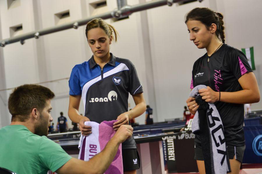 Raquel Bonilla y Laura Ramírez. (Foto: Leo Ruiz)