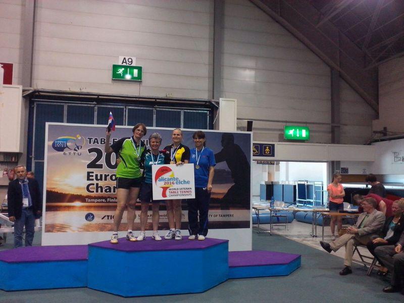 Alicante-Elche fue protagonista en el podio con María Vintila.