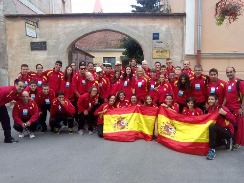 Delegación española, primera en el medallero. (Foto: DXT ADAPTADO)