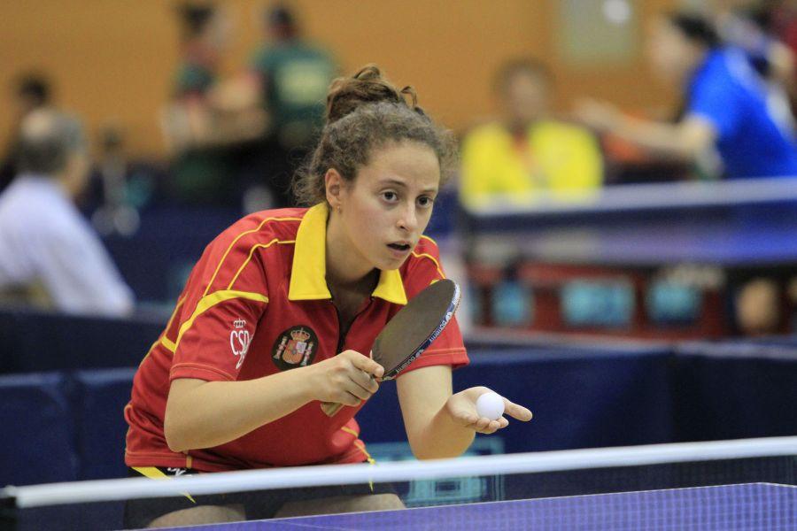 Sara Ballester. (Foto: Antonio García)