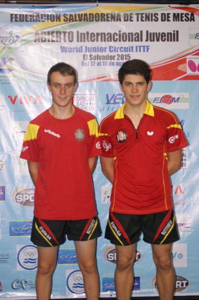 Carlos Vedriel y Rodrigo Cano. (Foto: ittfworld)