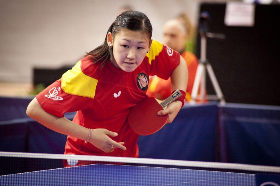 María Xiao. (Foto: ittfworld)