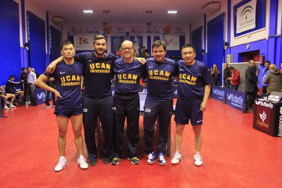 El UCAM Cartagena logró la pasada edición su primer título ligero en la competición masculina