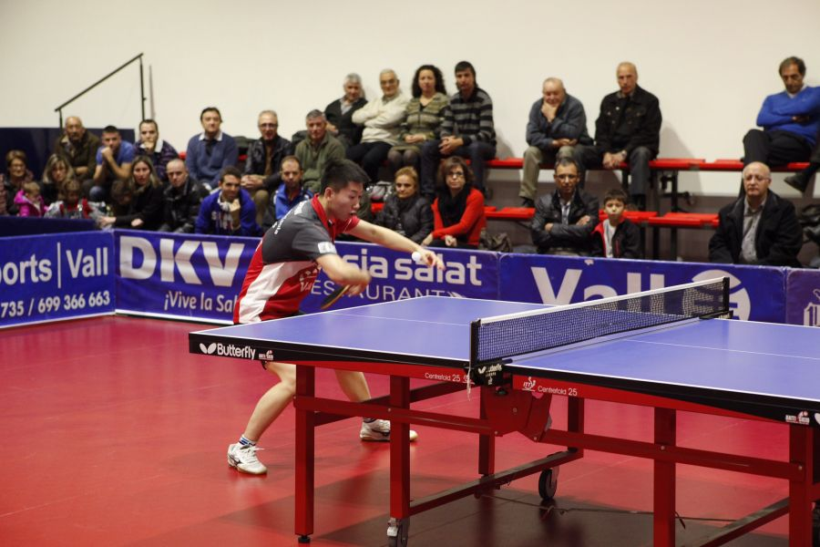 Gui Chenkai, jugador del DKV Borges Vall. (Foto: Toni Boldú)