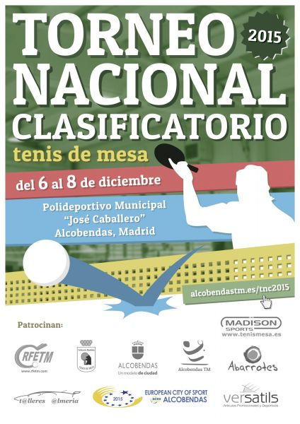 Cartel del Torneo Nacional 2015.