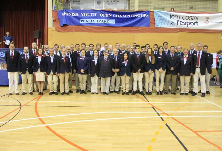 Árbitros participantes en el último SYOC 2015.