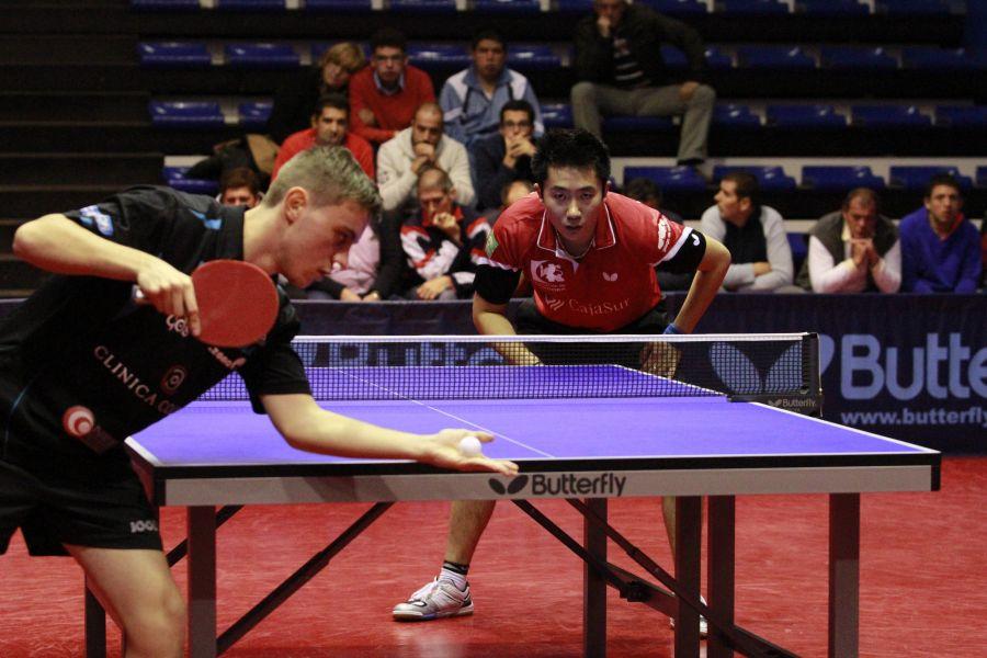 Zhouyang Li y Carlos Vedriel. (Foto: Priego TM)