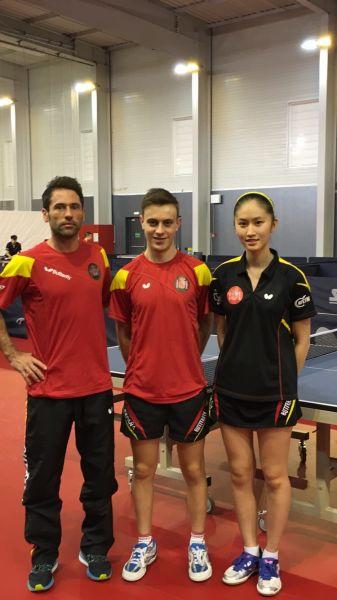 Daniel Torres, Carlos Vedriel y Sofía-Xuan Zhang.