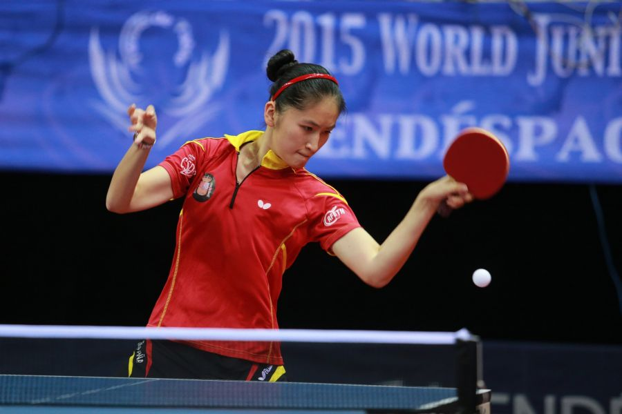Sofía-Xuan Zhang. (Foto. ITTF World)