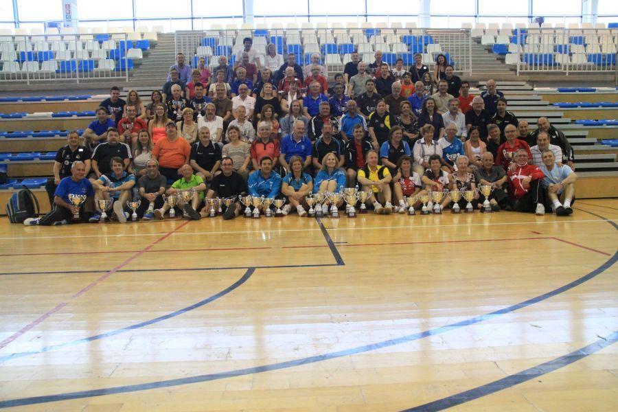 Foto de grupo de los participantes en el último campeonato celebrado en Altea (Alicante).