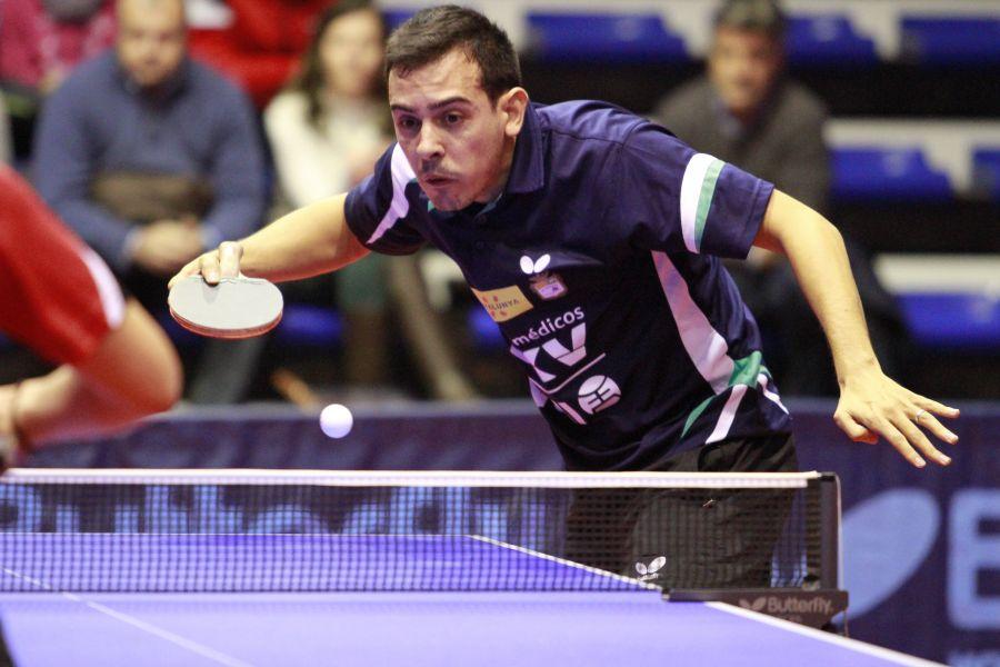 Marc Durán, jugador del DKV Borges Vall. (Foto: Antonio García)