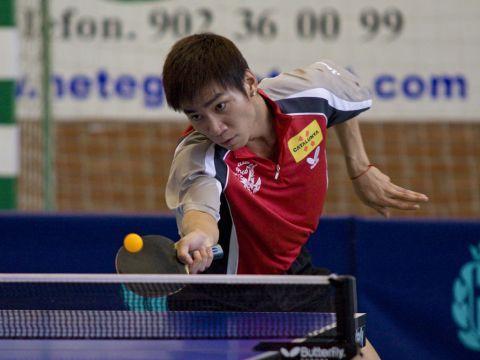 Li Dan Dan, jugador del Falcons Sabadell Fotografía: Alfred Lieury