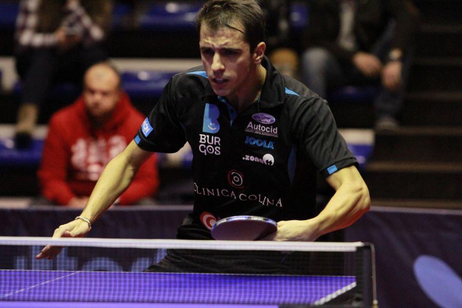 Diogo Pinho, jugador del Clínica Colina Burgos. (Foto: Antonio García)