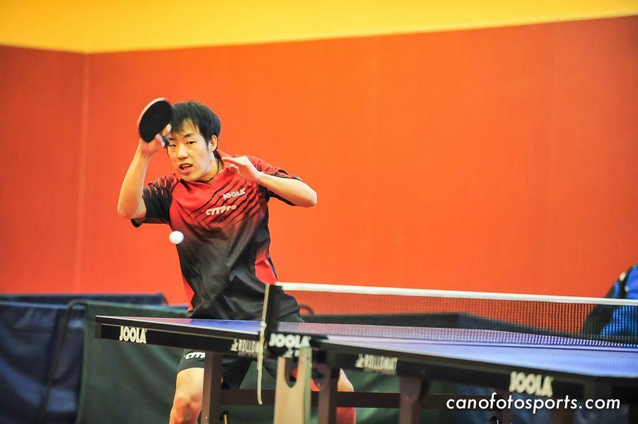 Zheng Junge, jugador del San Sebastián de los Reyes - Motorola. (Foto: canofotosports.com)