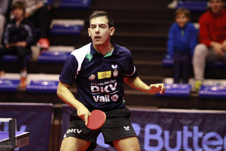 Marc Durán, jugador del DKV Borges Vall que esta jornada recibe al Arteal Santiago.