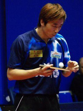 Hu Bin, jugador del DKV Borges Vall