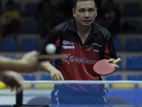 He Zhi Wen, jugador del CajaGranada  Fotografía: CajaGranada