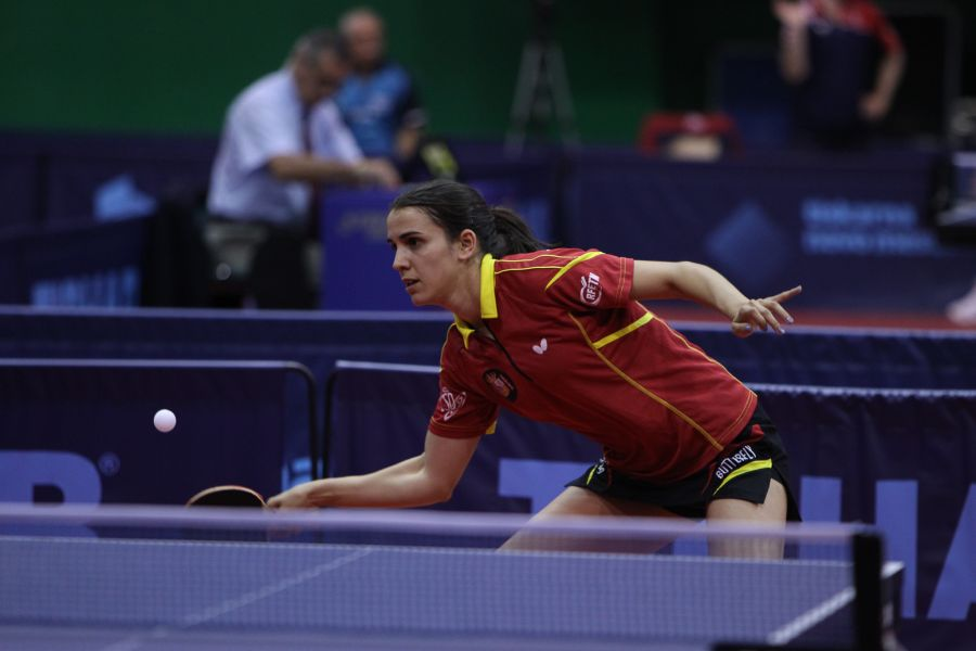 Sara Ramírez en el 2016 ITTF World Tour Slovenia Open. (Foto: ittfworld)