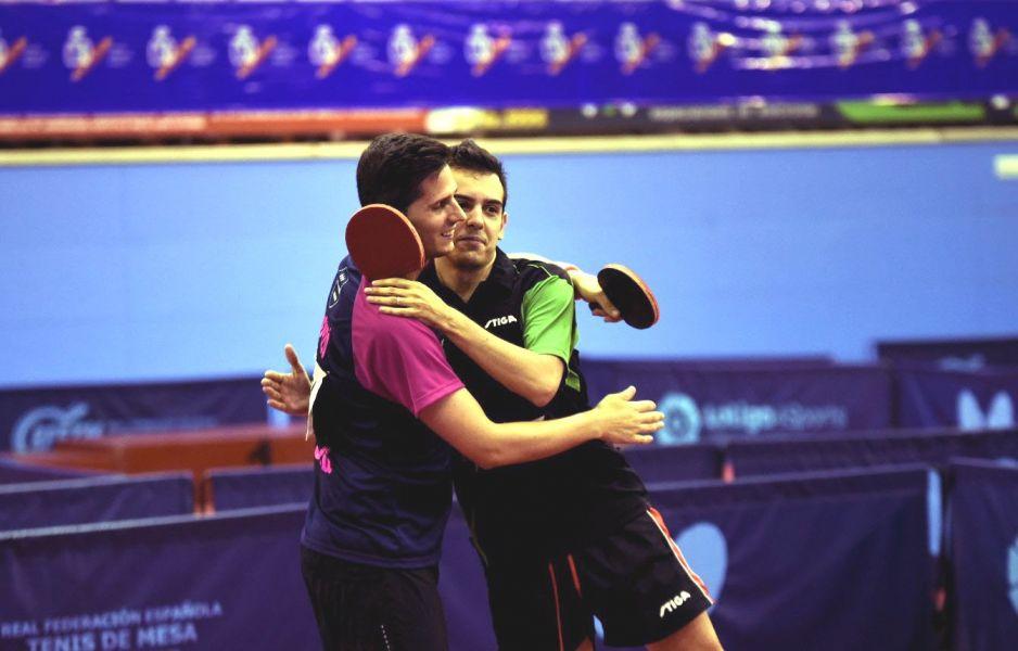 Oriol Monzó y Marc Durán. (Foto: Álvaro Díaz)
