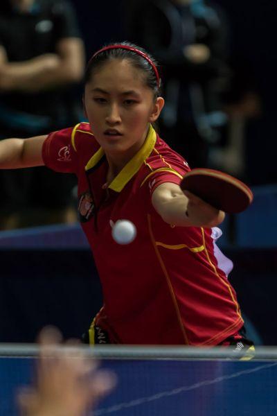 Sofía-Xuan Zhang, jugadora del equipo Junior Femenino español. (Foto: Facebook ETTU)