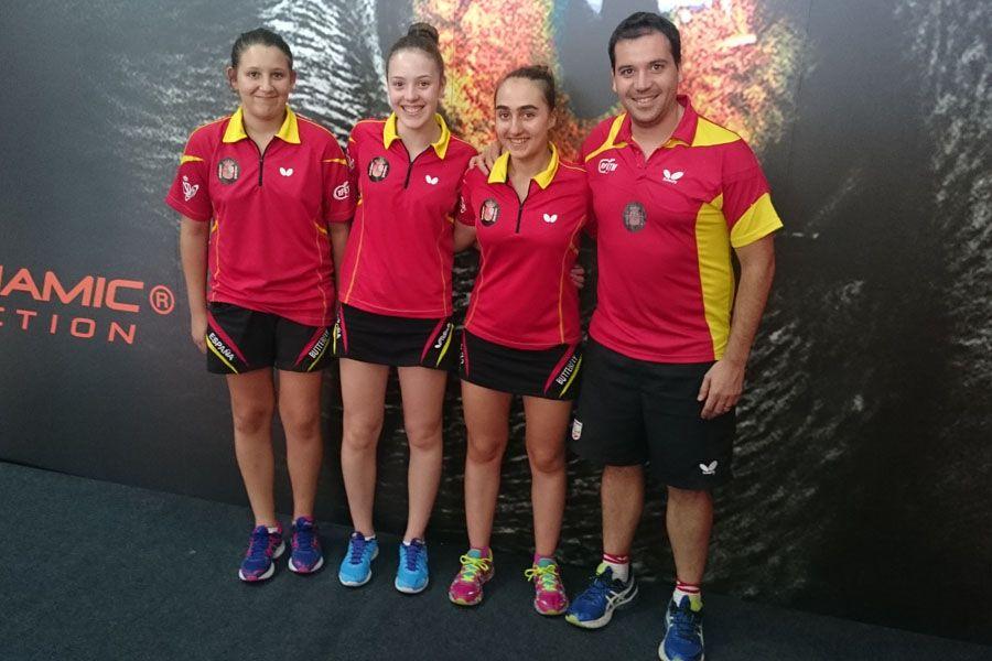 El Equipo Cadete Femenino termina en el puesto 15 y asciende a la máxima categoría.