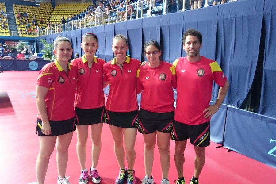 Equipo Junior Femenino, tercero en la clasificación.