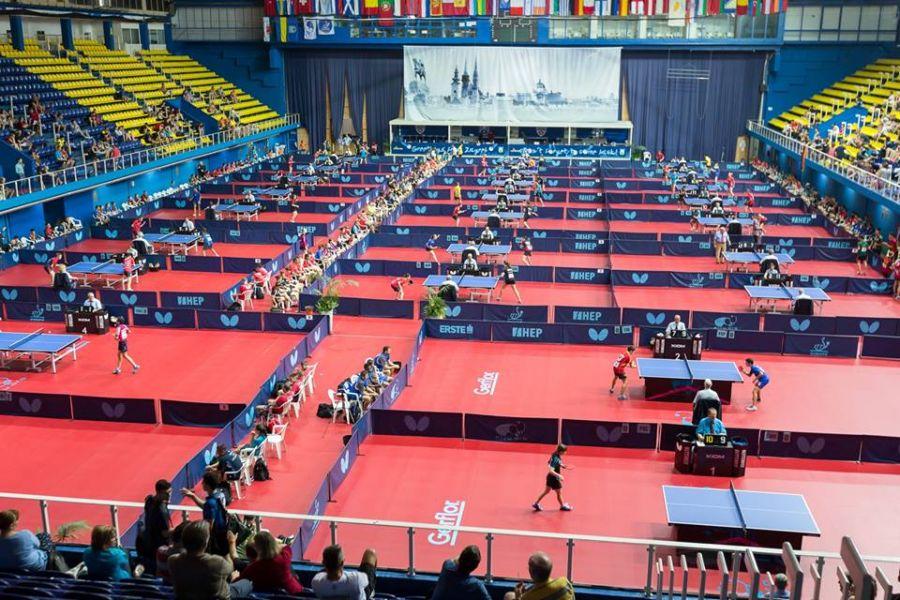 Aspecto del Dom Sportova de Zagreb.